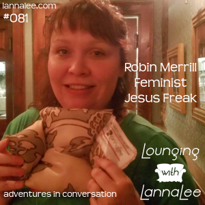 Robin lounges with Lanna Lee and gets a couch!