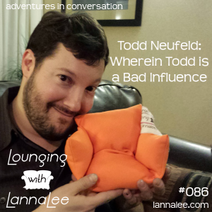 Todd Lounges with LannaLee and gets a couch!